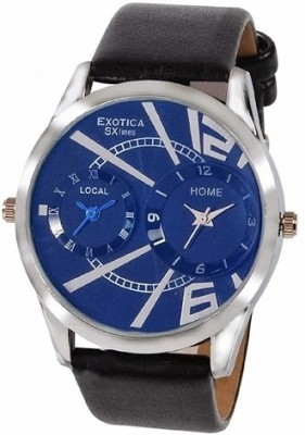 Exotica SXlines EF 81 Dual Blue Analog Watch    For Men available at Flipkart for Rs.499