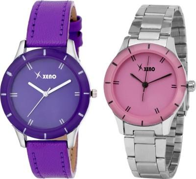 Xeno ZD000227LC Purple Pink Combo Women's Analog Watch  - For Girls, Women