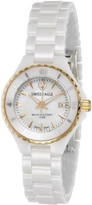 Swiss Eagle SE-6066-33 Analog Watch  - For Women