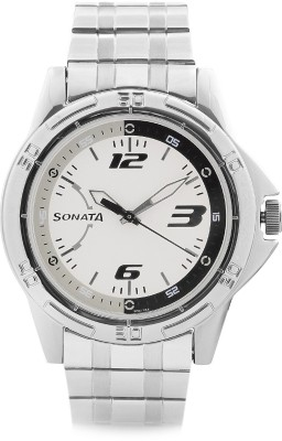 Sonata NG77001SM02 Analog Watch - For Men