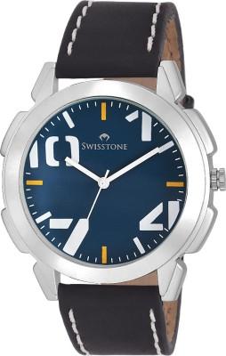 SWISSTONE GR102-BLU-BLK Analog Watch  - For Men, Boys