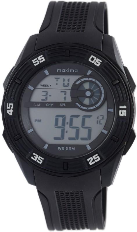 Maxima 43800PPDN Fiber Collection Digital Watch For Men