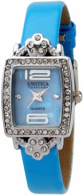Exotica Fashions EFL-51-Blue-L Women's Analog Watch image
