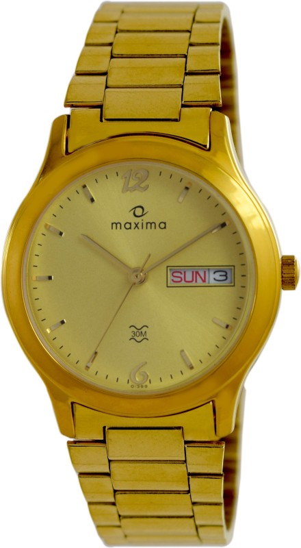 Maxima 01389CMGY Analog Watch For Men