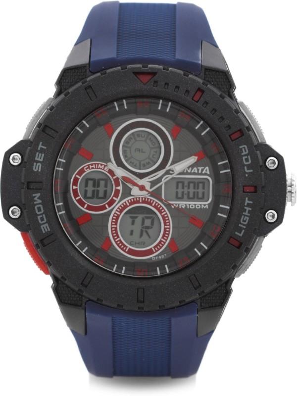 Sonata 77044pp03J Digital Watch For Men