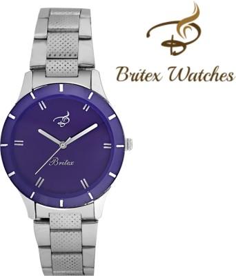 Britex BBT2061 Casino Purple Fox Analog Watch  - For Women, Girls
