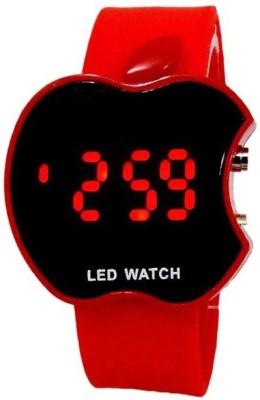 Nilkanth Apple Shape Smart LED Watch Digital Watch  - For Boys, Men