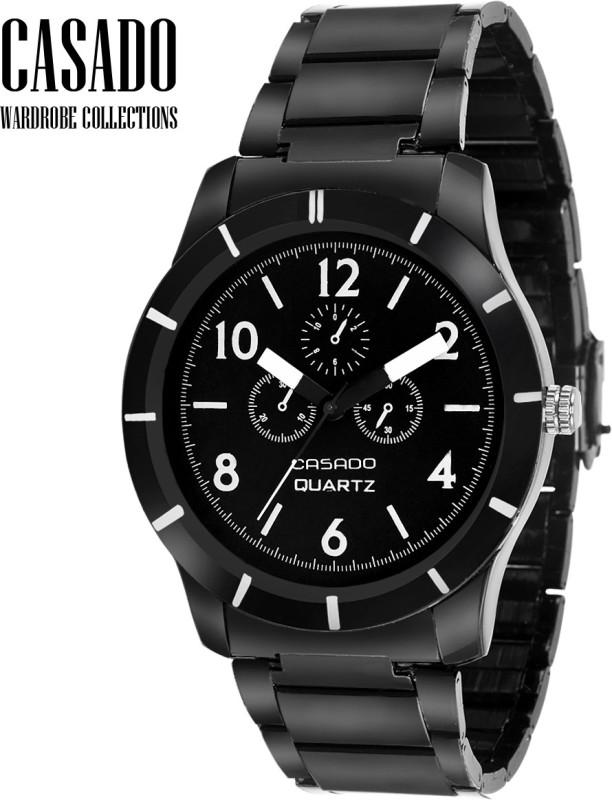 Casado CAS 107 ADO All Black Analog Watch For Men