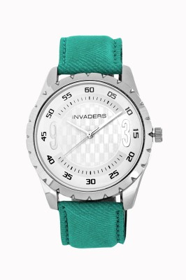Invaders 67054-Ssgrn Jeans 2 Analog Watch  - For Men