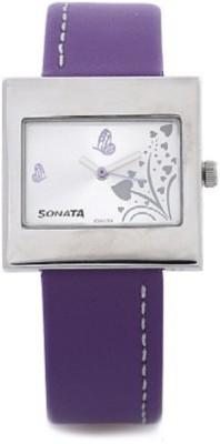 Sonata yuva steel Analog Watch - For Girls, Women