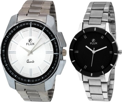 FLUX WCH-FX1003 Analog Watch  - For Couple