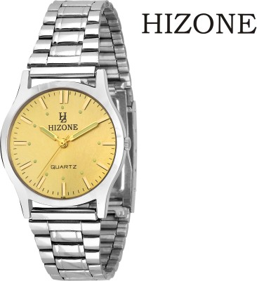 Hizone HZGD ST1 Steel Series Analog Watch  - For Men
