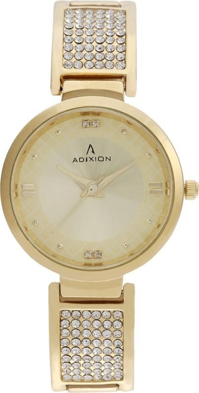ADIXION 2480YM11 New Ston With 18 K Gold Pleating Igp Bracelet wa