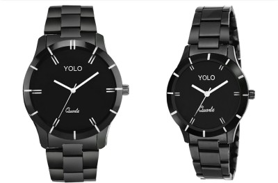 Yolo YCP-001 pair Analog Watch  - For Couple