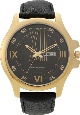 GAYLORD GL1012YL02 SS Analog Watch  - For Men