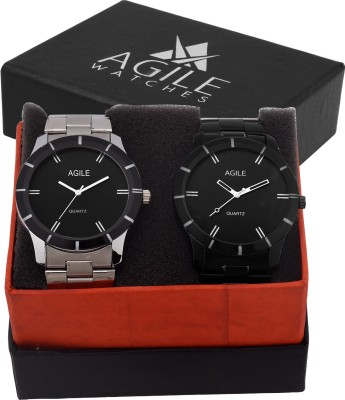 Agile AGC010 Classic Men Stainless steel Analog Watch  - For Boys, Men