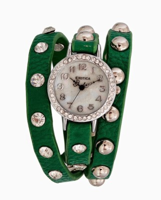 Exotica Fashions EFL-100-Green Women's Analog Watch image
