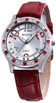 Skone WSK-JW246RD Skone Analog Watch  - For Women