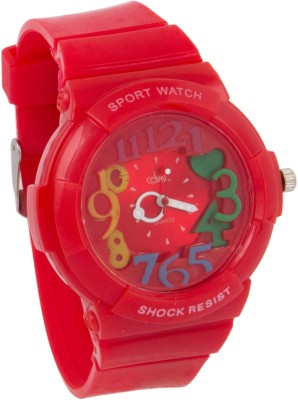 Cosmic COSMIC SUPER COOL KIDS WATCH - RED RUBBER STRAP Analog Watch  - For Girls, Boys