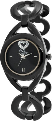 Ilina BLKHeart Analog Watch  - For Women