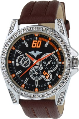 Picaaso Brown-64 Analog Watch  - For Men