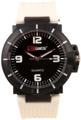 Gansta GT106-5-Blk-Wht Analog Watch  - For Men, Women, Boys, Girls