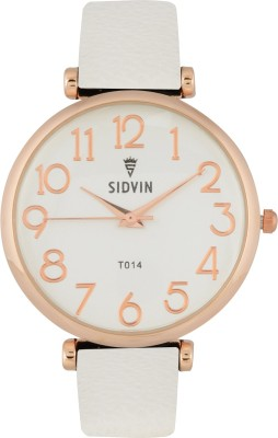 SIDVIN AT1014WT Pretty Series Analog Watch  - For Girls, Women