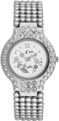 EVA DL-LR3002-WHT Analog Watch  - For Women