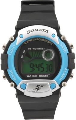 Sonata NG7982PP04 Digital Watch - For Men