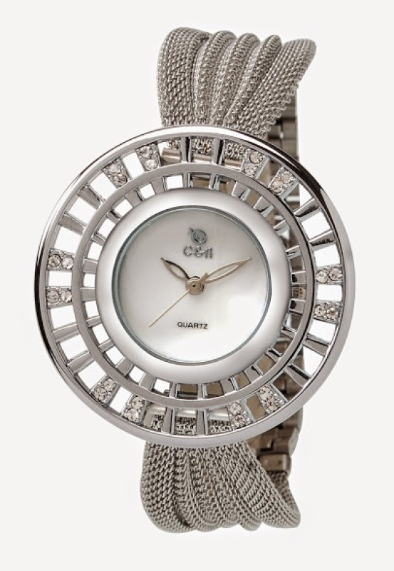 Chappin Nellson CN L 77 MOP Analog Watch For Women