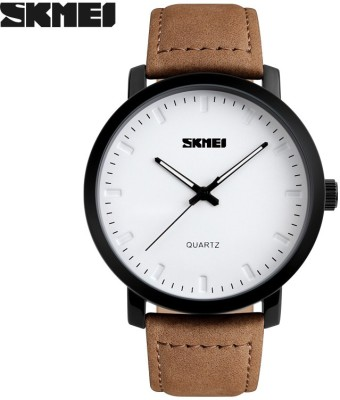 Skmei Gmarks-6911-White Analog Watch - For Men & Women