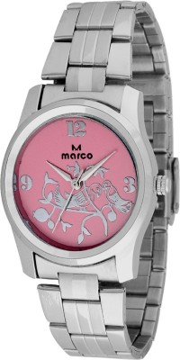 Marco MR-LR069-PNK-CH Marco Analog Watch  - For Women