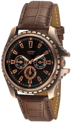 Gypsy Club GC-87A Ultimate Chronograph pattern Analog Watch  - For Men, Boys