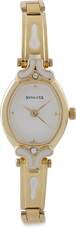 Sonata NG8068YM03 Analog Watch For Women