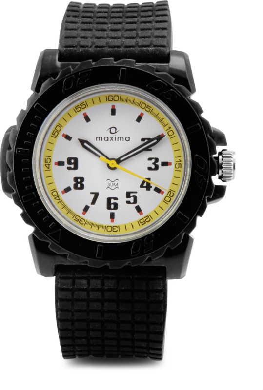 Maxima 12030PPGW Fiber Analog Watch For Men
