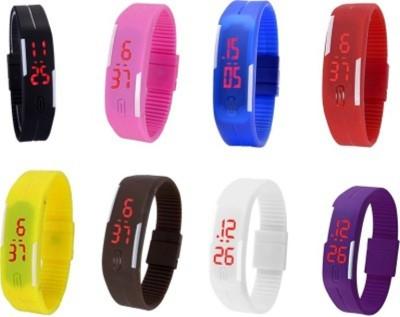 MKS MKS001 Analog-Digital Watch  - For Couple