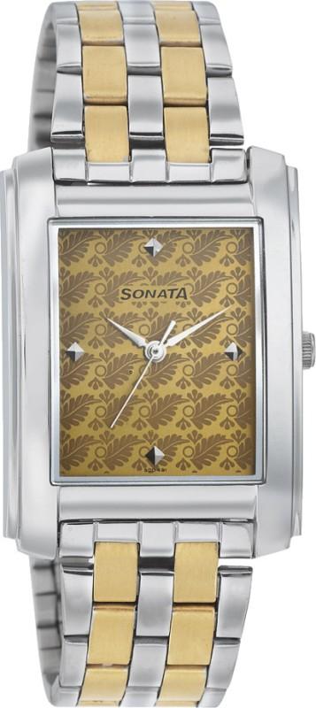 Sonata 7953BM01 Analog Watch For Men