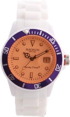 Madison New York U46101 Analog Watch  - For Men, Women