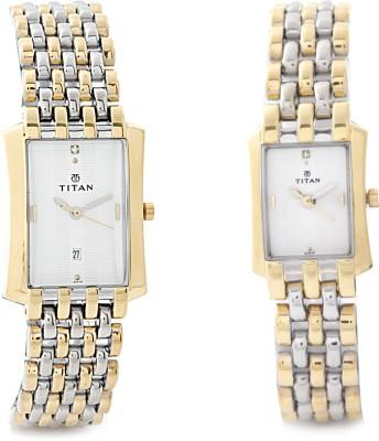 Titan NH19272927BM01 Bandhan Analog Watch - For Couple