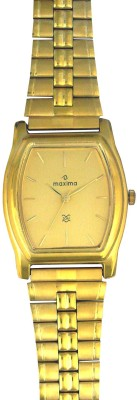 Maxima 14752CPGY Mac Gold Analog Watch  - For Men