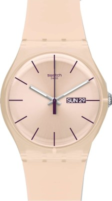 Swatch SUOT700 New Gent Analog Watch  - For Women