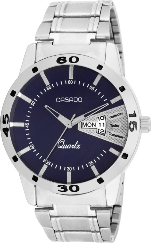 Casado 138 Day and Date Analog Watch For Men