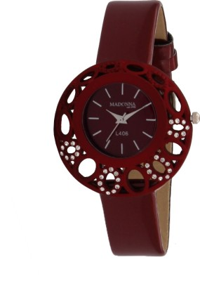 Madonna MDN-010-RED Analog Watch  - For Women