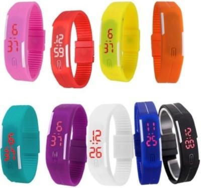 MKS Attractive 001 Digital Watch  - For Boys, Girls, Women, Couple