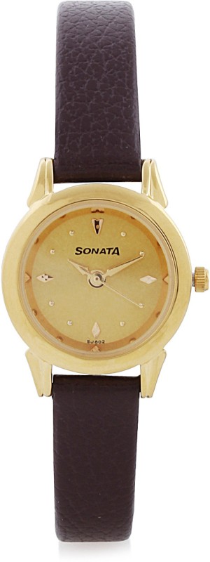 Sonata �ND8925YL02CJ Analog Watch For Women