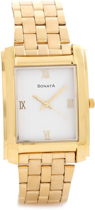 Sonata NF7953YM01J Analog Watch For Men