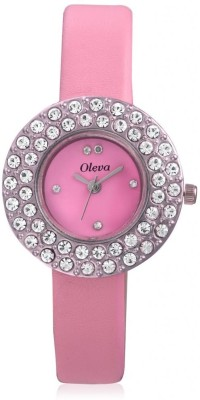Oleva Olw-16 Pink Analog Watch  - For Women