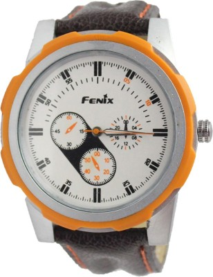 Style Feathers Fenix Orange Watch006 Analog Watch  - For Men
