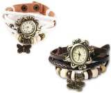 Y And D Vintage Butter fly white-brown A...