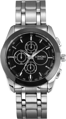 Longbo HLBLK216550 Saffron Analog Watch  - For Men